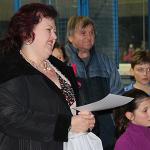 Vyhlášení výsledků se ujala místostarostka města p. Blanka Faluši