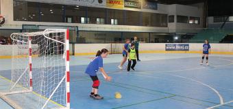 Házená na Zimáku: turnaj 8 základních škol