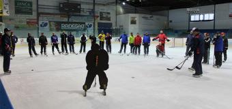 Zvučná hokejová jména se školí na našem Zimáku