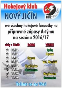 Přípravné utkání A týmu: NJ x Oswieczym