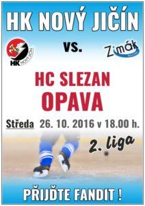 Hokej II. liga: Nový Jičín x Opava