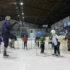 První krůčky na ledě – zahájili jsme další sérii Školiček bruslení