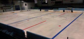 Ledová plocha je připravená !
