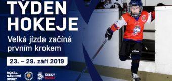 Pojď hrát hokej 25.9.2019